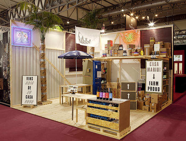 Stand de Casa Mariol en Alimentaria 2012, Barcelona.