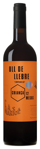 Casa Mariol, ull de llebre criana. Tempranillo crianza.