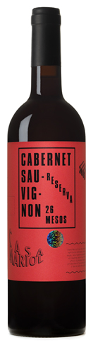 Casa Mariol, cabernet sauvignon reserva.
