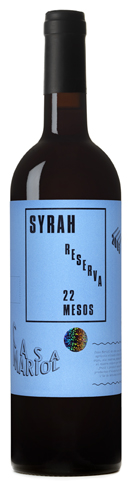 Casa Mariol, syrah reserva.