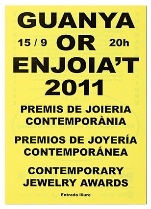 Comuniacin premios de joyera contempornea.