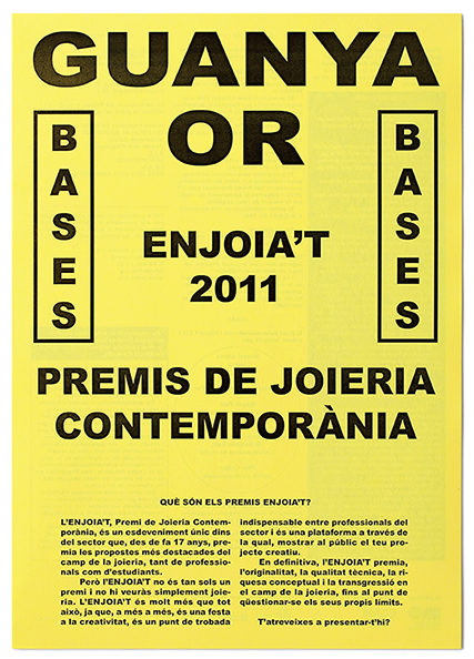 Bases premios Enjoia&#039;t.