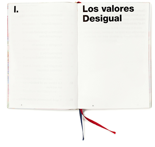 Primer captulo del libro We are Desigual.