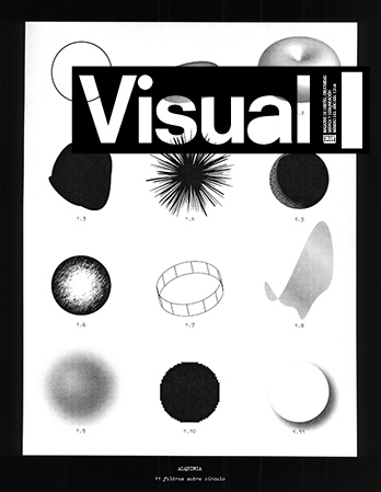 Visual magazine cover.