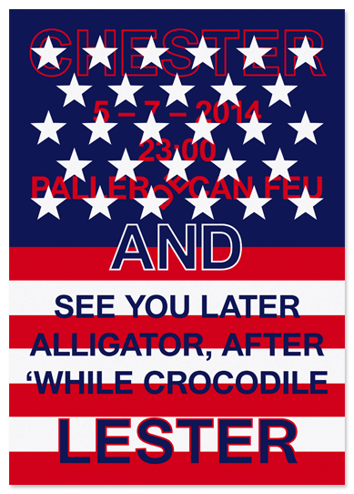 See you later alligator.